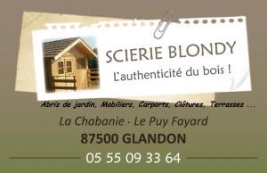 scierie blondy glandon