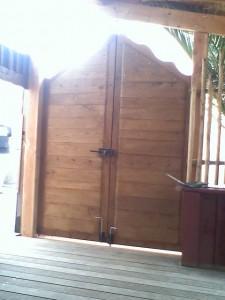 porte - portail en bois