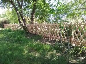 clôture croisillons douglas 87