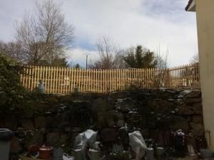 clôture douglas semi jointive 87