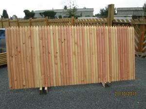 clôture jointive douglas 87