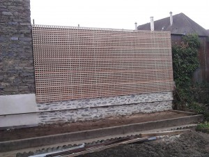 clôture treillage droit 87