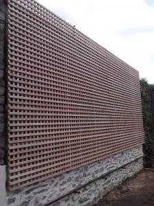 clôture treillage droit douglas 87