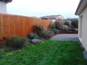 clôture jointive Douglas