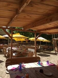 table bois jardin 87