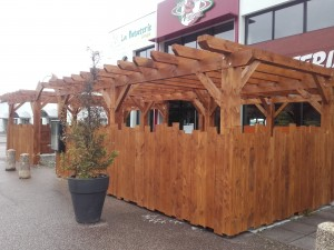 pergolas restaurant limoges